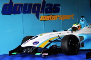 Douglas Motorsport are already winners in the F4 series