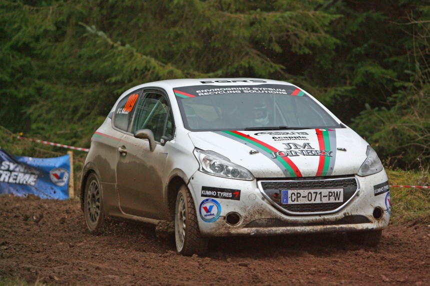 Junior winners Kevin Eves and Chris Melly won two Kumho Rally Tyres from Ears Motorsport. Image From barronpix.com