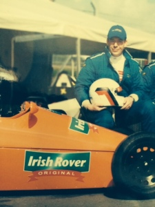 Ready to show everyone how it's done- Darren and his Sheane at Mondello.