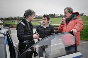 """Hammond & Clarkson acted as May's """"spotters""""..."""