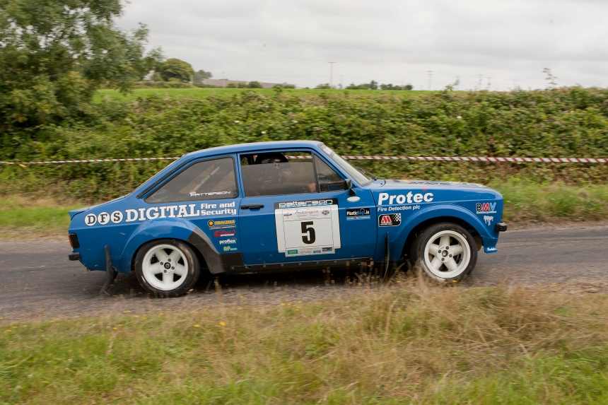 Last Years Winner of the IMC Rally Wesley Patterson    Johnny Baird