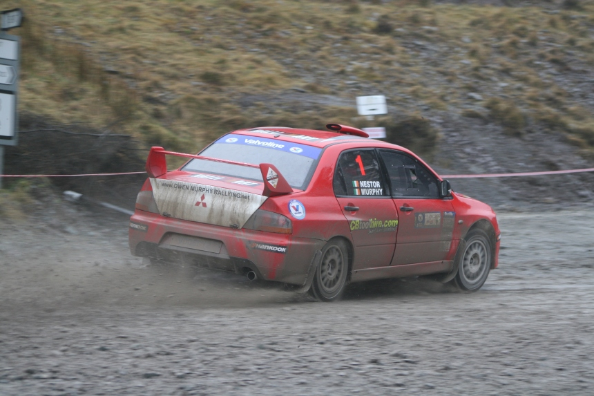 Owen Murphy & Anthony Nestor winners of round three Valvoline Irish Forest Rally Championship