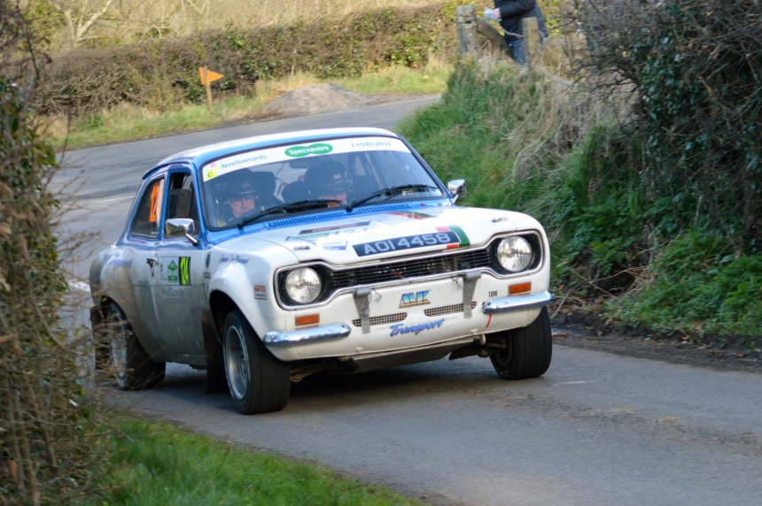 Stanley Orr & Stephen McAuley- 11th overall- 1st Historic- Circuit of Ireland