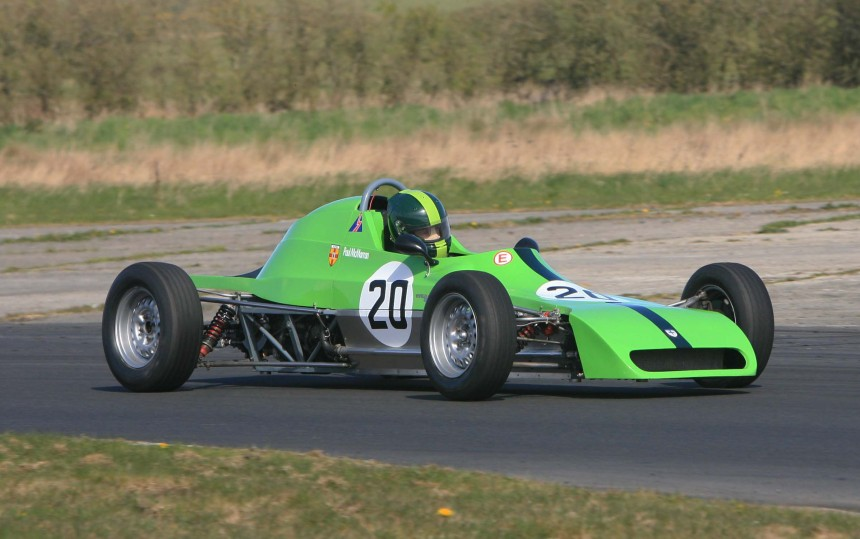 the 32F one of the most successful Crossle Formula  Fords