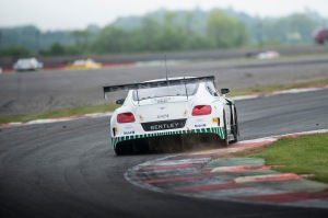 Bentley GT3 at Blancpain Silverstone Photo: James Lipman / jameslipman.com
