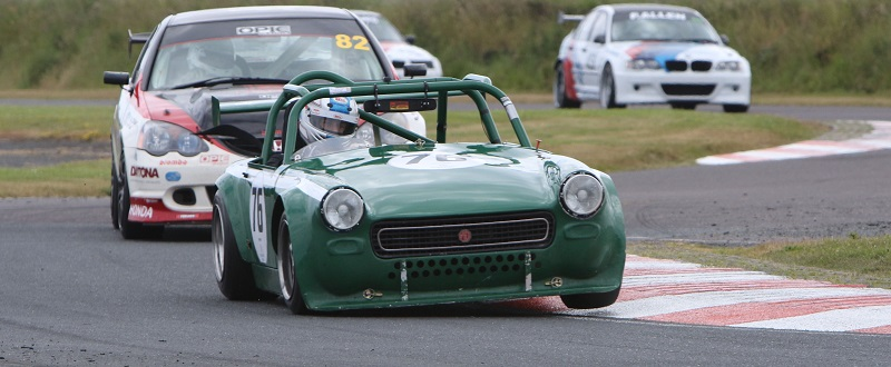 a double header for Saloons andf GTs at Kirkistown