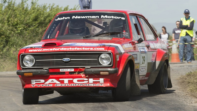 jack Newman/Andrew Browne (Ford Escort) on the Raven's Rock Rally in Waterford, round five of the Triton Showers National Rally Championship.  Picture: Martin Walsh.