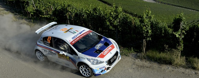 Craig Breen WRC2 Germany  2015