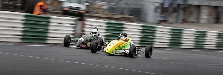 It was almost a photo-finish to the line at Mondello Park in rac