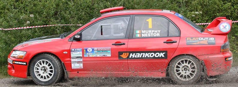 Owen Murphy & Anthony Nestor- 1st overall Round 4 Valvoline Motorsport Ireland Forestry Championship