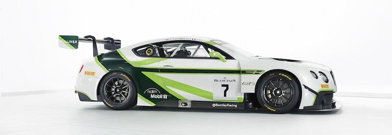 The 2016 Bentley Team M-Sport Continental GT3