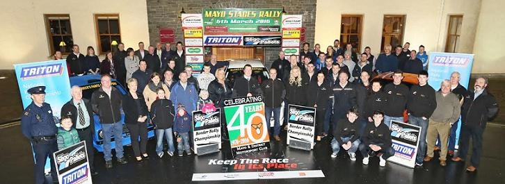 Mayo Stages Rally Launch at Hotel Ballina. Photo: © Michael Donnelly