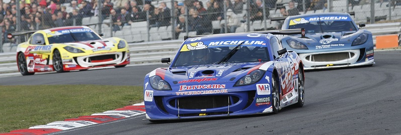Will Burns (GBR) Douglas Motorsport Ginetta G55