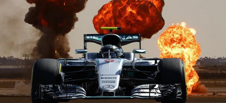 Rosberg Explosions