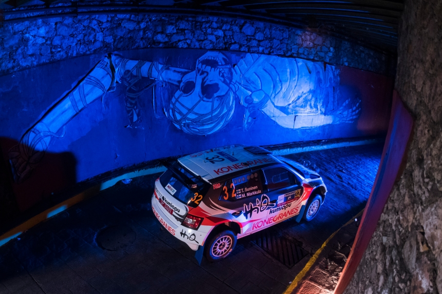WRC Mexico features a unique timed section through the old silver mines in Guanajuato
