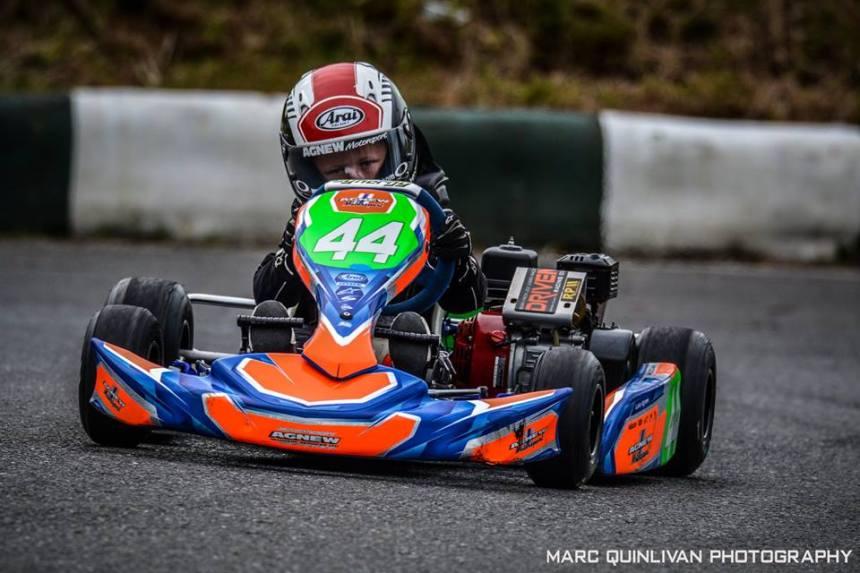 Luke Agnew, Junior Cadet Open